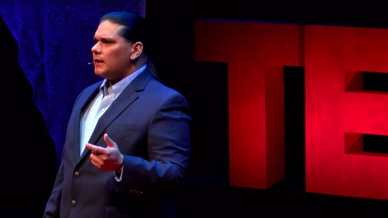 Assistant professor Mike Bowers TED talks in TEDxVirginiaTech